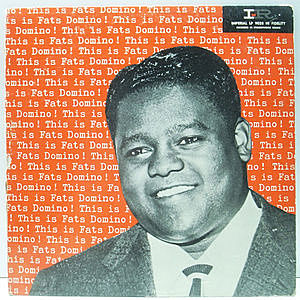 レコード画像:FATS DOMINO / This Is Fats Domino!
