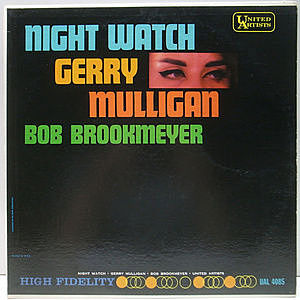 レコード画像:GERRY MULLIGAN / BOB BROOKMEYER / Nightwatch