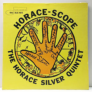 レコード画像:HORACE SILVER / Horace Scope