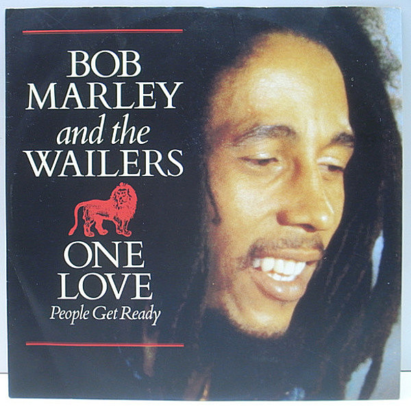 レコードメイン画像:ピクチャーJK 良品!! UK 12インチ BOB MARLEY & WAILERS One Love / People Get Ready ('91 Tuff Gong) Keep On Moving ボブ・マーリー