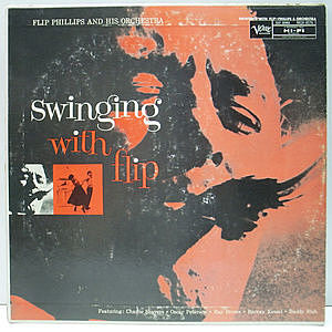 レコード画像:FLIP PHILLIPS / Swinging With Flip