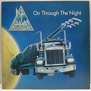 レコード画像:DEF LEPPARD / On Through The Night