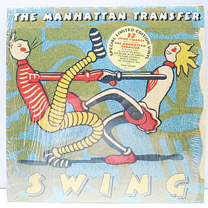 レコード画像:MANHATTAN TRANSFER / Swing