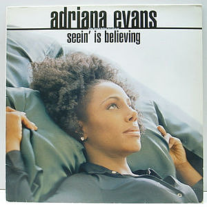 レコード画像:ADRIANA EVANS / Seein' Is Believing