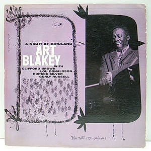 レコード画像:ART BLAKEY / A Night At Birdland, Volume 1