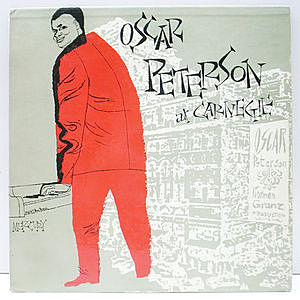 レコード画像:OSCAR PETERSON / Oscar Peterson At Carnegie