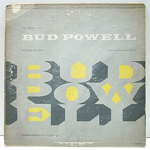 レコード画像:BUD POWELL / The Artistry Of Bud Powell