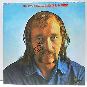 レコード画像:TONY McPHEE / The Two Sides Of Tony (T.S.) McPhee