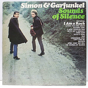 レコード画像:SIMON and GARFUNKEL / Sounds Of Silence