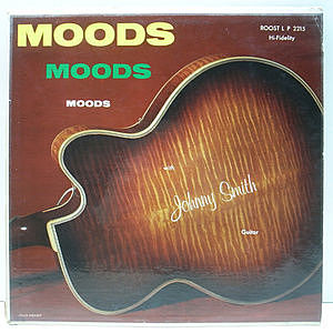 レコード画像:JOHNNY SMITH / Moods With Johnny Smith Guitar