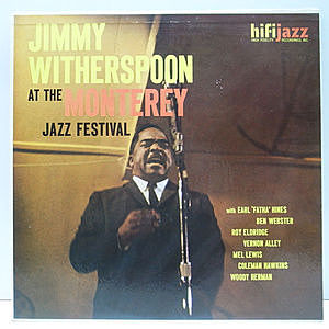 レコード画像:JIMMY WITHERSPOON / At The Monterey Jazz Festival