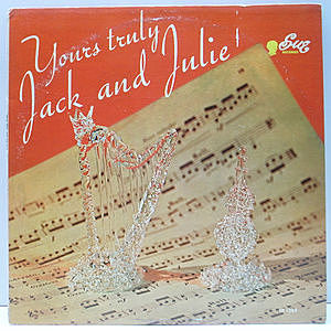 レコード画像:JACK MELADY / JULIUS EHRENWERTH / Your's Truly, Jack And Julie