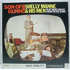 レコード画像:SHELLY MANNE & His Men / Play More Music From Peter Gunn Son Of Gunn!!