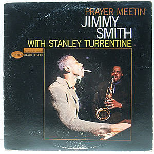 レコード画像:JIMMY SMITH / STANLEY TURRENTINE / Prayer Meetin'