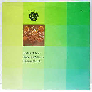 レコード画像:MARY LOU WILLIAMS / BARBARA CARROLL / Ladies Of Jazz