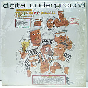 レコード画像:DIGITAL UNDERGROUND / This Is An E.P. Release