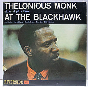 レコード画像:THELONIOUS MONK / At The Blackhawk