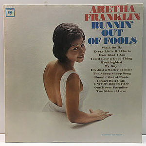 レコード画像:ARETHA FRANKLIN / Runnin' Out Of Fools