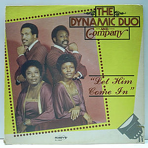 レコード画像:DYNAMIC DUO AND COMPANY / Let Him Come In