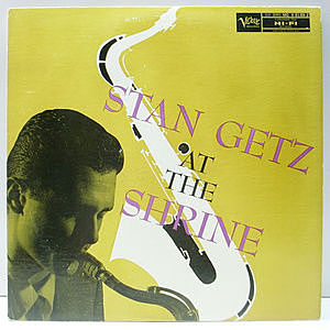 レコード画像:STAN GETZ / At The Shrine