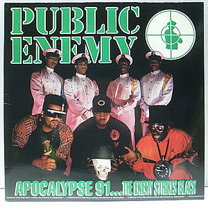 レコード画像:PUBLIC ENEMY / Apocalypse 91... The Enemy Strikes Black