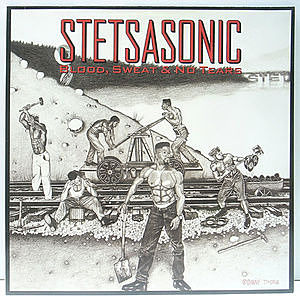 レコード画像:STETSASONIC / Blood, Sweat & No Tears