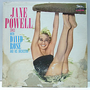 レコード画像:JANE POWELL / Jane Powell Sings With David Rose And His Orchestra
