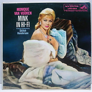レコード画像:MONIQUE VAN VOOREN / Mink In Hi-Fi