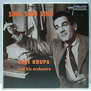 レコード画像:GENE KRUPA / The Rocking Mr. Krupa (Sing, Sing, Sing)