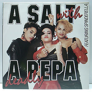 レコード画像:SALT N PEPA / A Salt With A Deadly Pepa