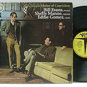 レコード画像:BILL EVANS / A Simple Matter Of Conviction
