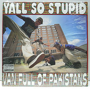レコード画像:YALL SO STUPID / Van Full Of Pakistans