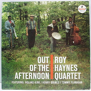 レコード画像:ROY HAYNES / Out Of The Afternoon