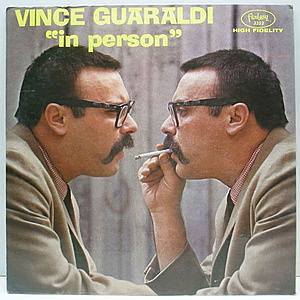 レコード画像:VINCE GUARALDI / In Person