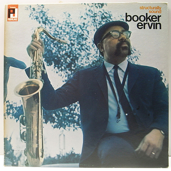レコードメイン画像:レアなMONO!美盤! USオリジナル BOOKER ERVIN Structurally Sound ('67 Pacific Jazz) Charles Tolliver, John Hicks, Red Mitchell