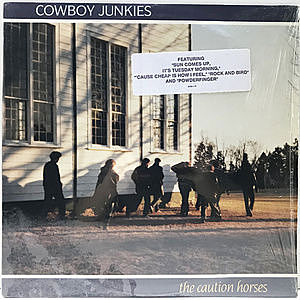 レコード画像:COWBOY JUNKIES / The Caution Horses