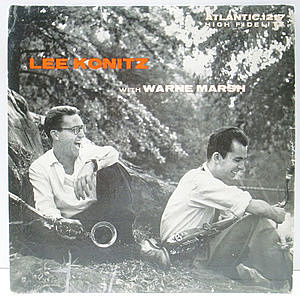レコード画像:LEE KONITZ / WARNE MARSH / Lee Konitz With Warne Marsh