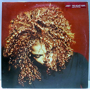 レコード画像:JANET JACKSON / The Velvet Rope