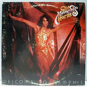 レコード画像:MEMPHIS HORNS / Welcome To Memphis