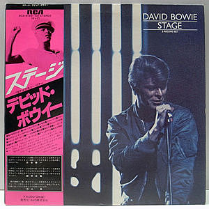 レコード画像:DAVID BOWIE / Stage