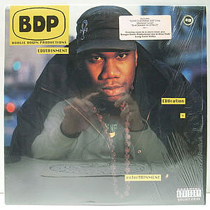 レコード画像:BOOGIE DOWN PRODUCTIONS / Edutainment