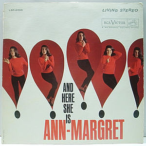 レコード画像:ANN MARGRET / And Here She Is