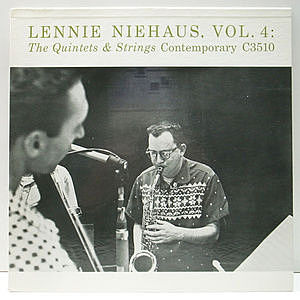 レコード画像:LENNIE NIEHAUS / Vol. 4 : The Quintets & Strings
