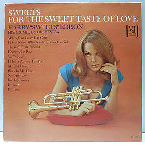 レコード画像:HARRY EDISON / For The Sweet Taste Of Love