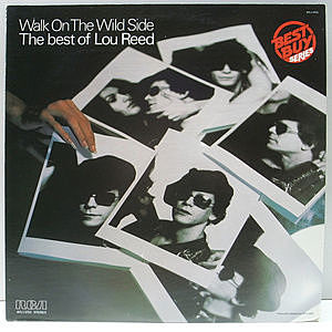 レコード画像:LOU REED / Walk On The Wild Side - The Best Of Lou Reed