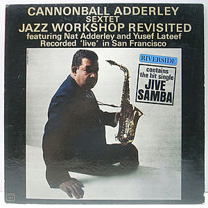 レコード画像:CANNONBALL ADDERLEY / Jazz Workshop Revisited