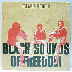 レコード画像:BLACK UHURU / Black Sounds Of Freedom