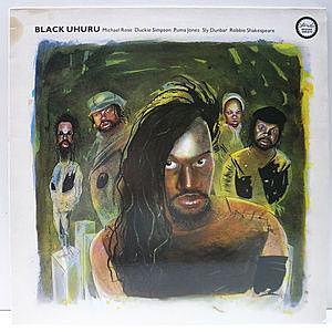 レコード画像:BLACK UHURU / Reggae Greats
