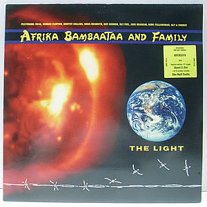 レコード画像:AFRIKA BAMBAATAA & FAMILY / The Light
