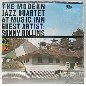 レコード画像:MODERN JAZZ QUARTET / SONNY ROLLINS / The Modern Jazz Quartet At Music Inn